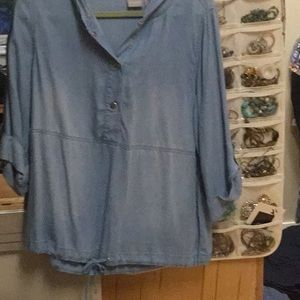 Chicos chambray shirt